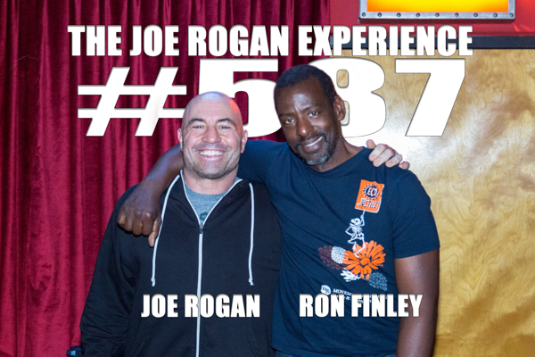 The Joe Rogan Experience #587 - Ron Finley