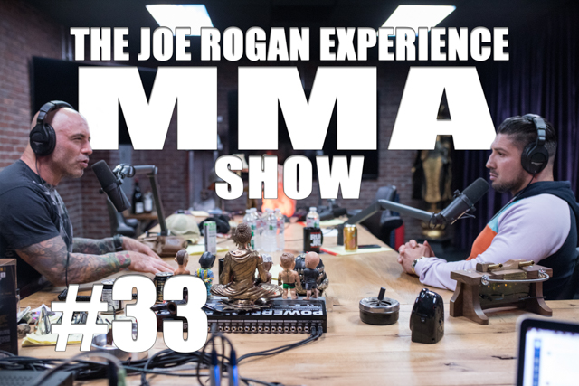 The Joe Rogan Experience JRE MMA Show #33 with Brendan Schaub