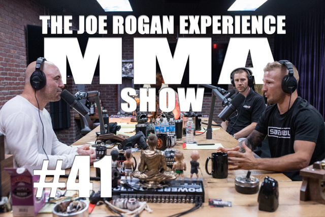 The Joe Rogan Experience JRE MMA Show #41 with TJ Dillashaw & Duane Ludwig