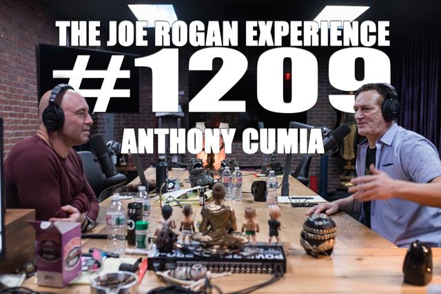 The Joe Rogan Experience #1209 - Anthony Cumia