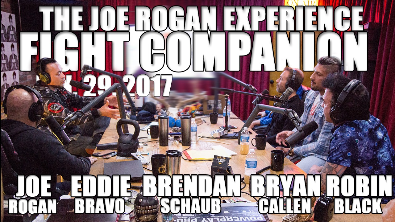 The Joe Rogan Experience Fight Companion - January 29, 2017