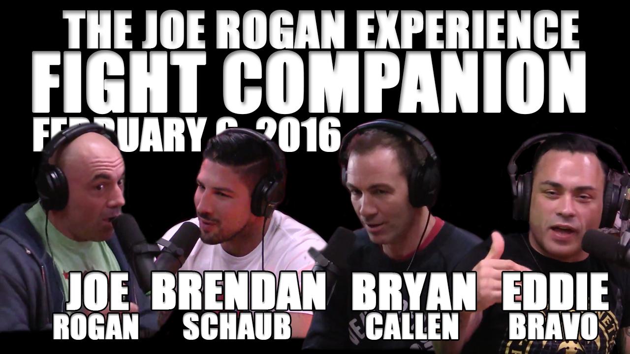 The Joe Rogan Experience Fight Companion - February 6, 2016