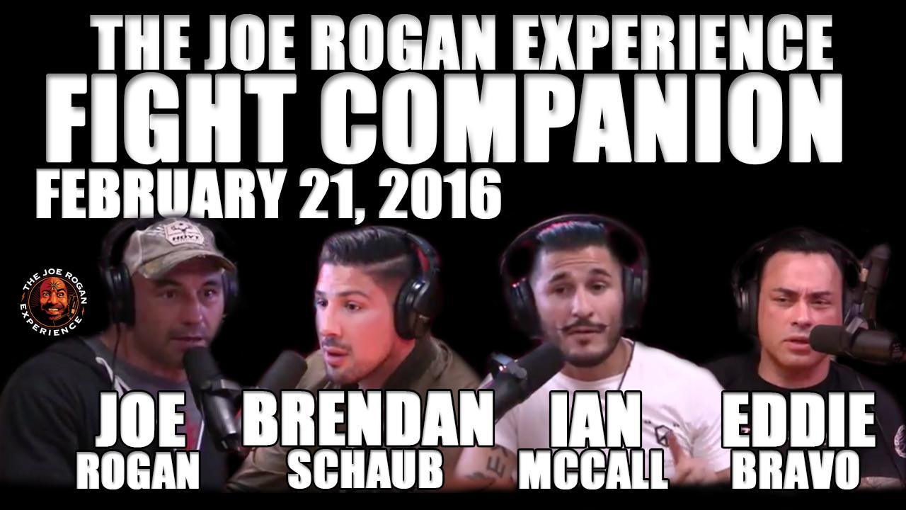 The Joe Rogan Experience Fight Companion - February 21, 2016