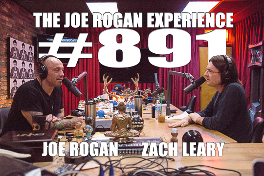 The Joe Rogan Experience #891 - Zach Leary