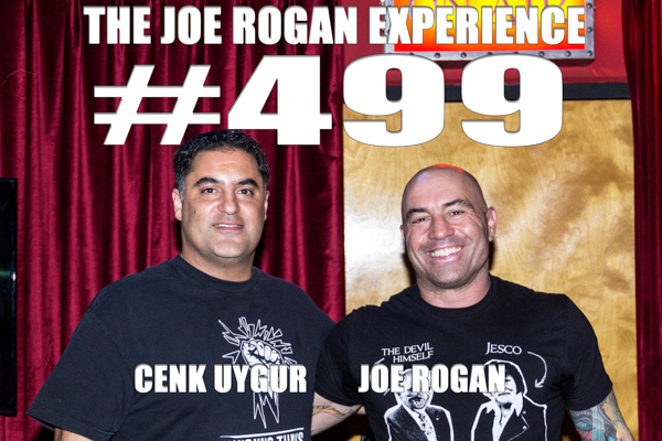The Joe Rogan Experience #499 - Cenk Uygur
