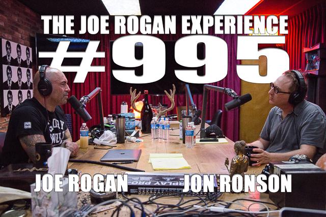 The Joe Rogan Experience #995 - Jon Ronson