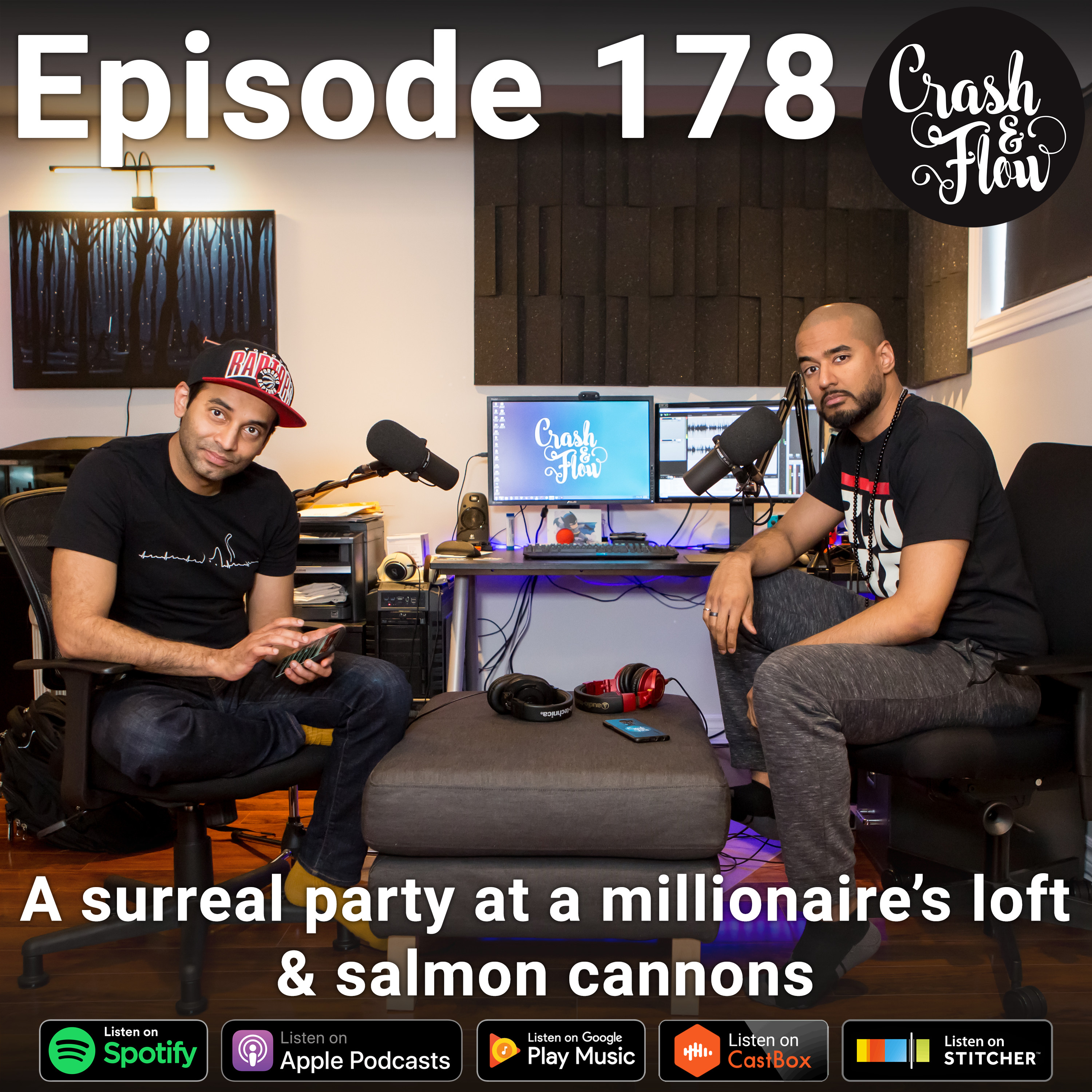 28520a00374 Episode 178 - A surreal party at a millionaire s loft   salmon cannons