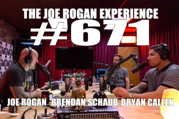 The Joe Rogan Experience #671 - Brendan Schaub & Bryan Callen