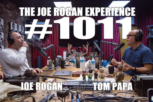 The Joe Rogan Experience #1011 - Tom Papa