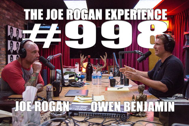 The Joe Rogan Experience #998 - Owen Benjamin