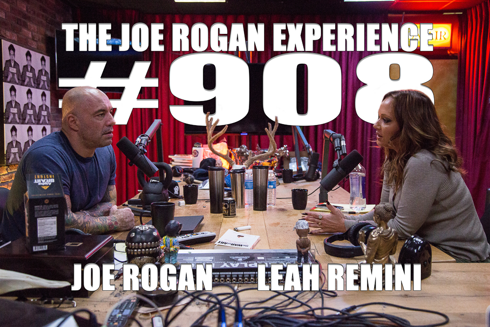 The Joe Rogan Experience #908 - Leah Remini