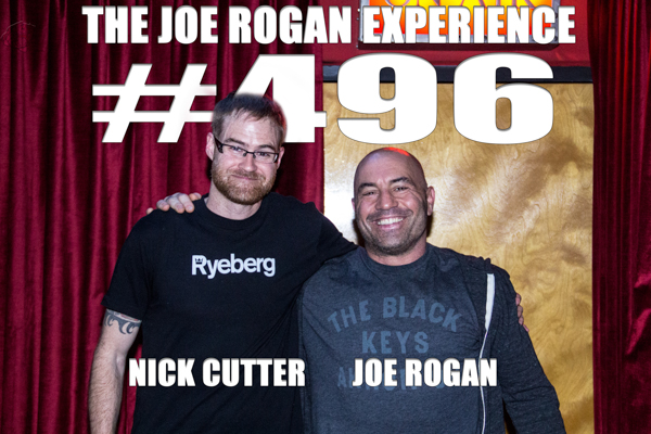 The Joe Rogan Experience #496 - Nick Cutter