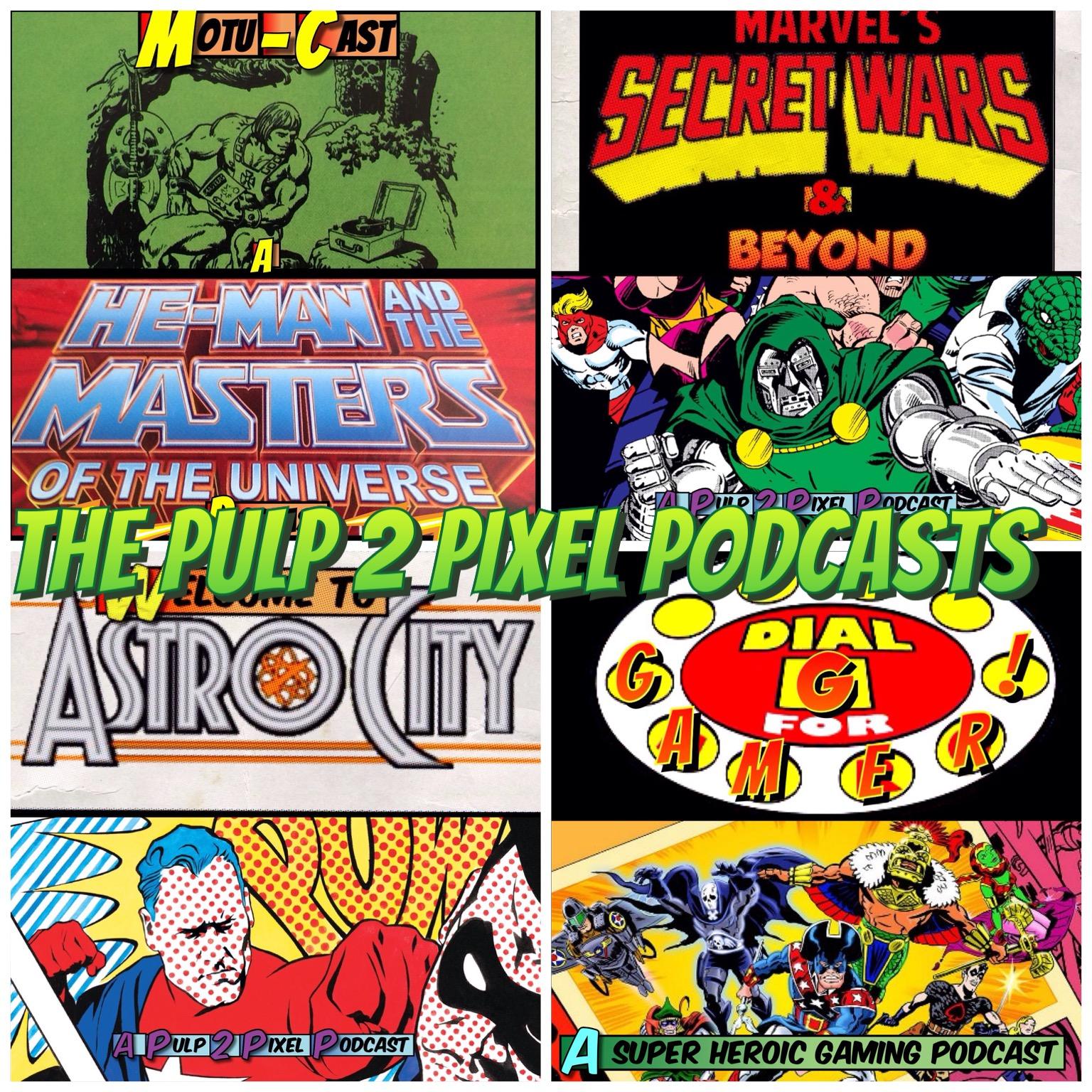 Pulp 2 Pixel Podcasts