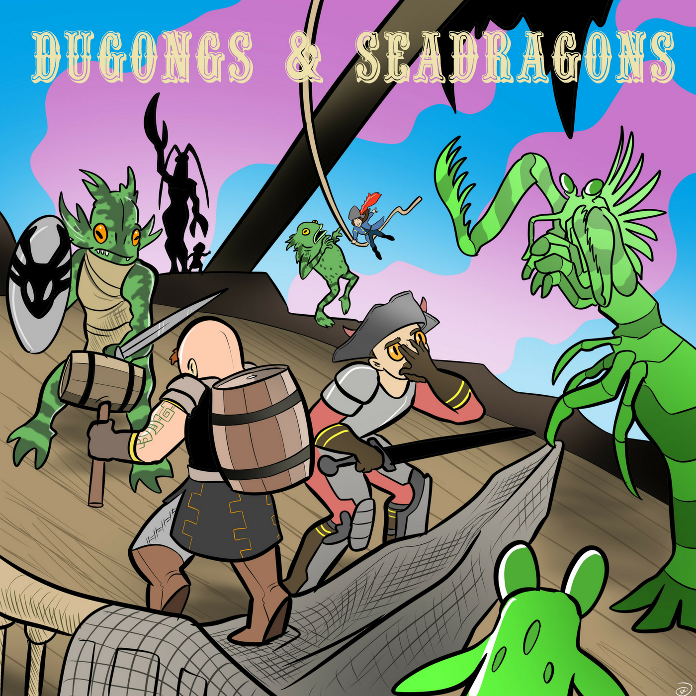Dugongs And Seadragons