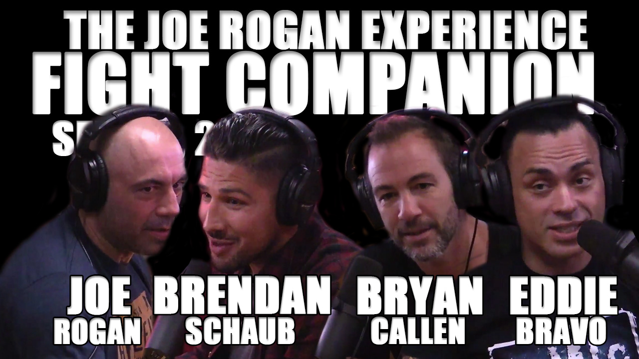 The Joe Rogan Experience Fight Companion - September 3, 2016