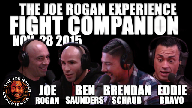 The Joe Rogan Experience Fight Companion - Nov. 28, 2015