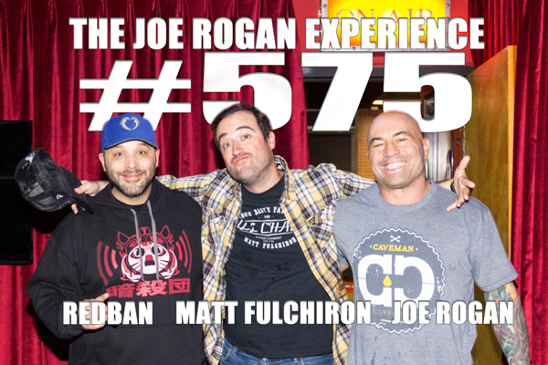 The Joe Rogan Experience #575 - Matt Fulchiron