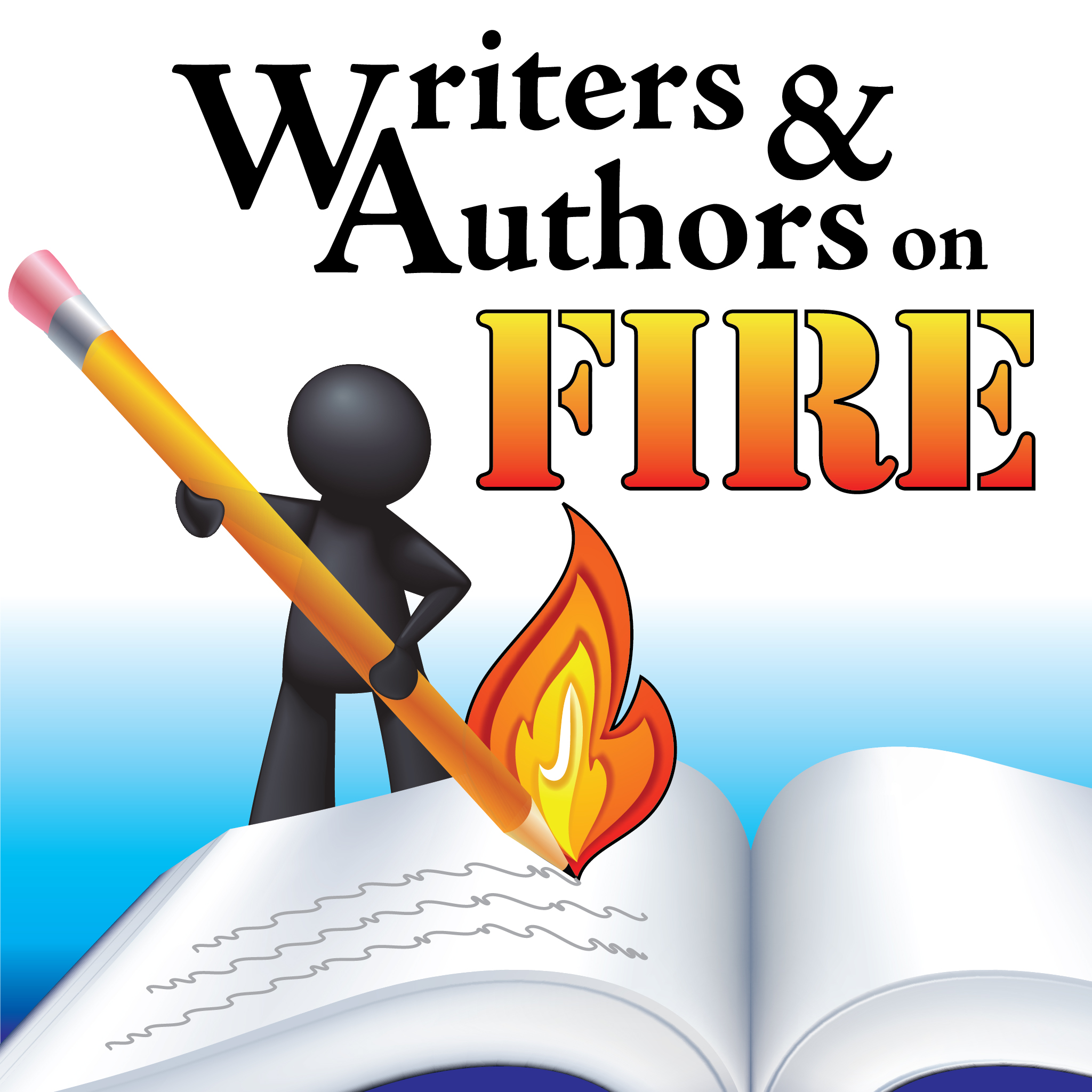 Writers Authors On Fire podcast