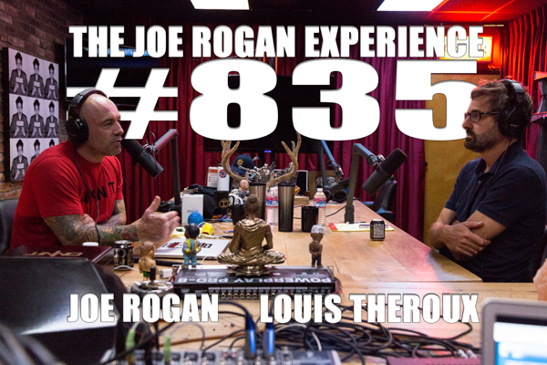 The Joe Rogan Experience #835 - Louis Theroux