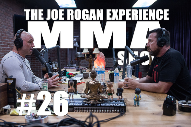 The Joe Rogan Experience JRE MMA Show #26 with Big John McCarthy
