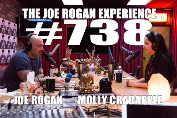 The Joe Rogan Experience #738 - Molly Crabapple