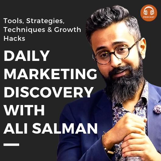 Daily Marketing Discovery with Ali Salman
