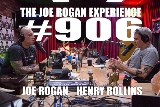 The Joe Rogan Experience #906 - Henry Rollins