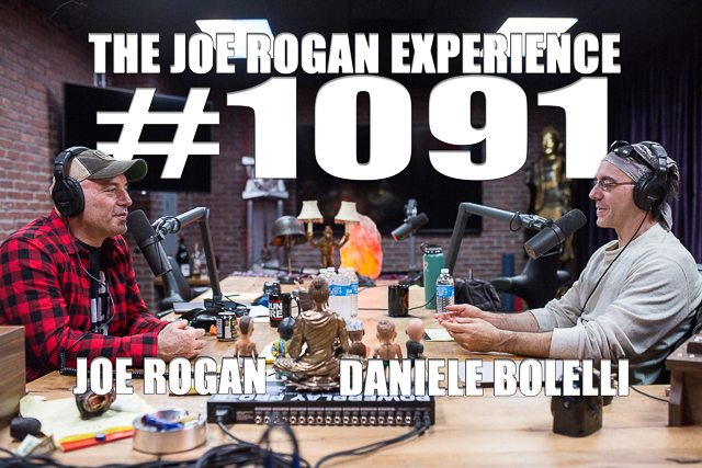 The Joe Rogan Experience #1091 - Daniele Bolelli