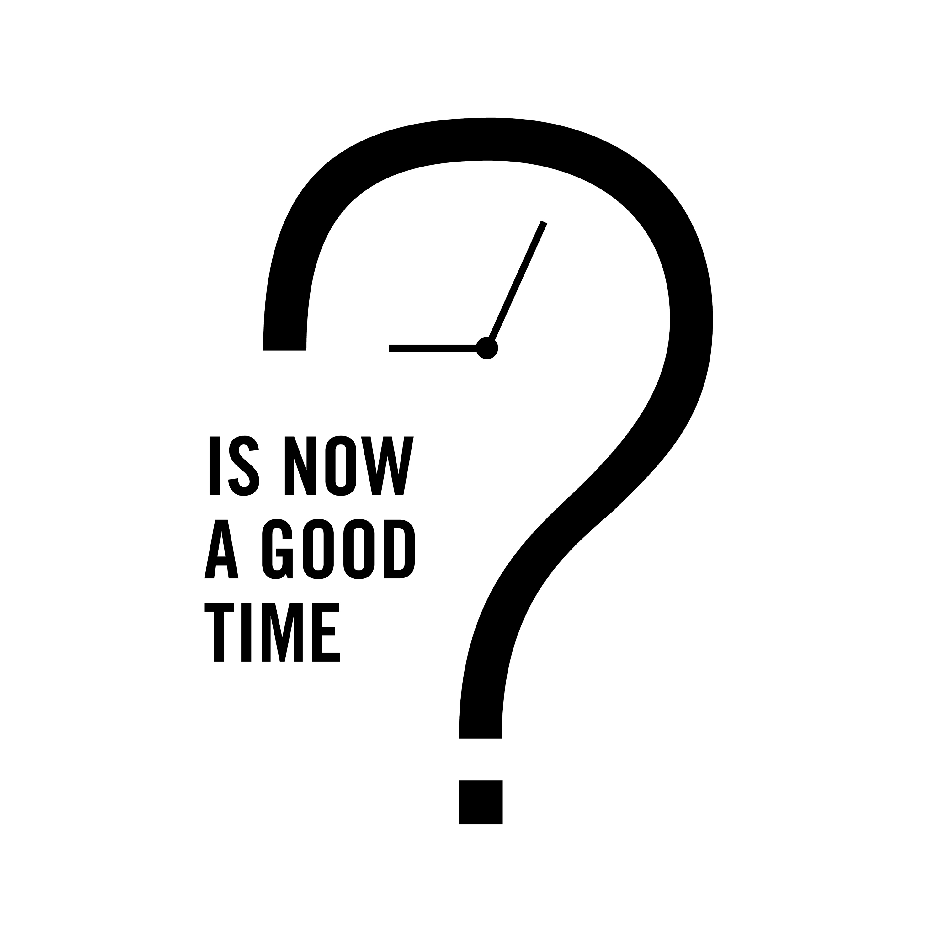 Is Now A Good Time?