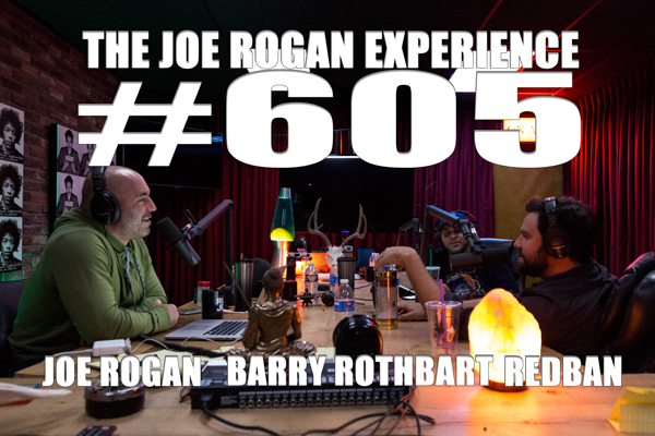 The Joe Rogan Experience #605 - Barry Rothbart