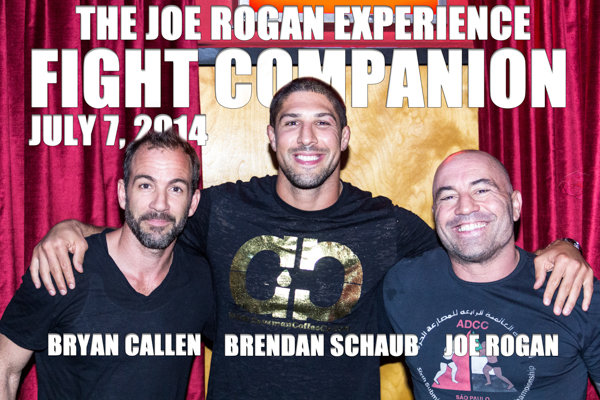 The Joe Rogan Experience Fight Companion - July 7, 2014
