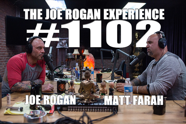 The Joe Rogan Experience #1102 - Matt Farah