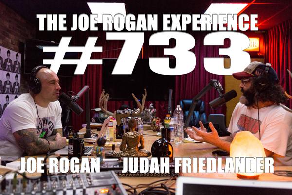 The Joe Rogan Experience #733 - Judah Friedlander