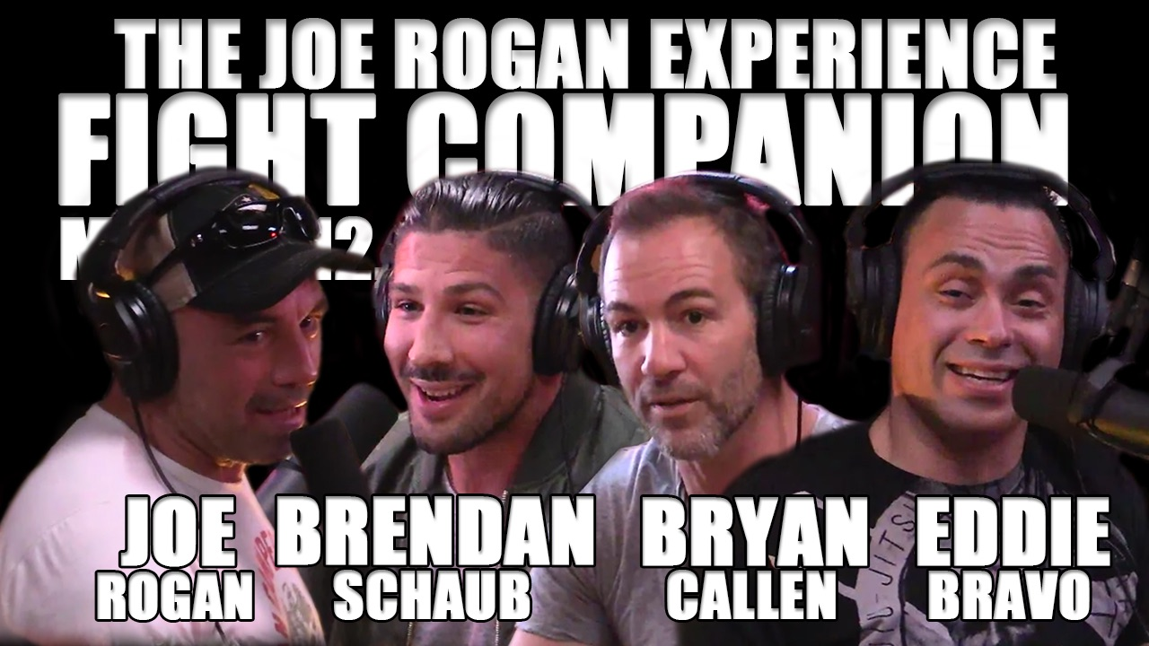 The Joe Rogan Experience Fight Companion - March 12, 2017