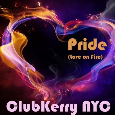 Pride Love on Fire Artwork