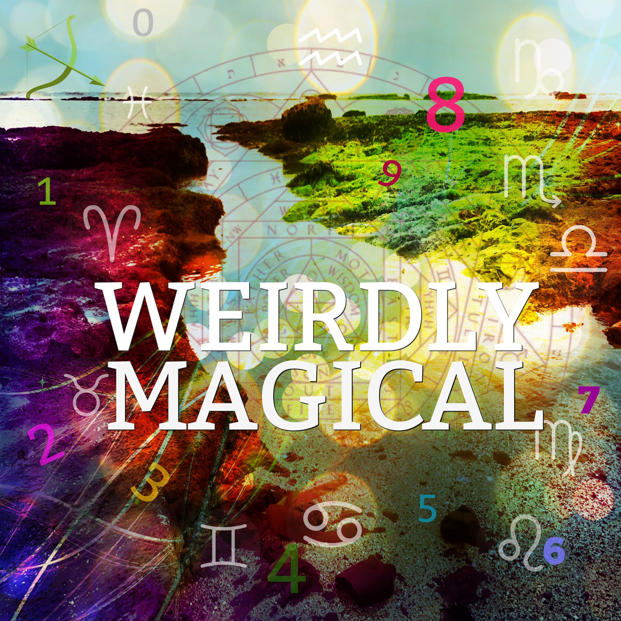 Weirdly Magical with Jen and Lou - Astrology - Numerology - Weird