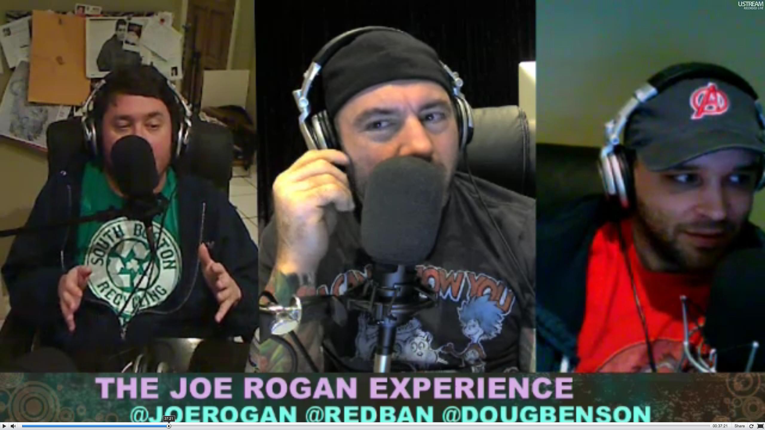 The Joe Rogan Experience PODCAST #158 - Doug Benson, Brian Redban