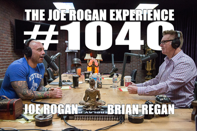 The Joe Rogan Experience #1040 - Brian Regan