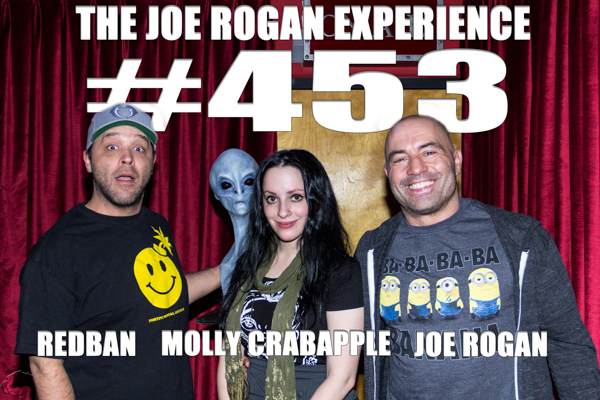 The Joe Rogan Experience #453 - Molly Crabapple