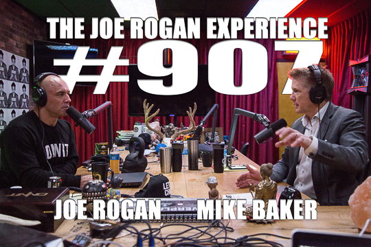 The Joe Rogan Experience #907 - Mike Baker