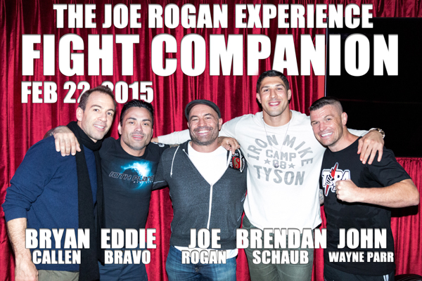 The Joe Rogan Experience Fight Companion - Feb. 22, 2015