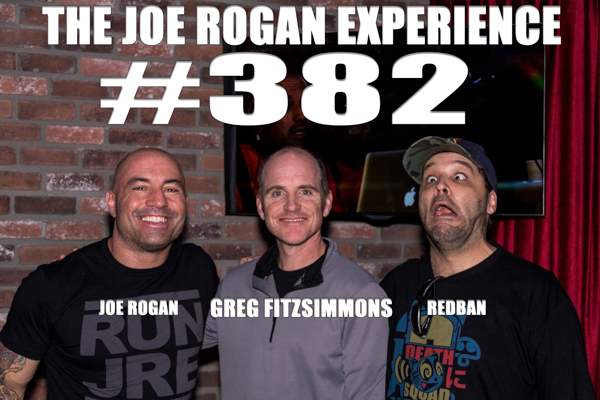 The Joe Rogan Experience #382 - Greg Fitzsimmons