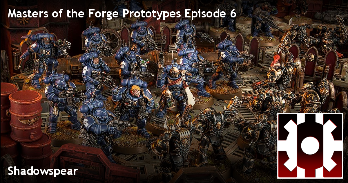 Masters of the Forge | Warhammer 40k Narrative Play Podcast