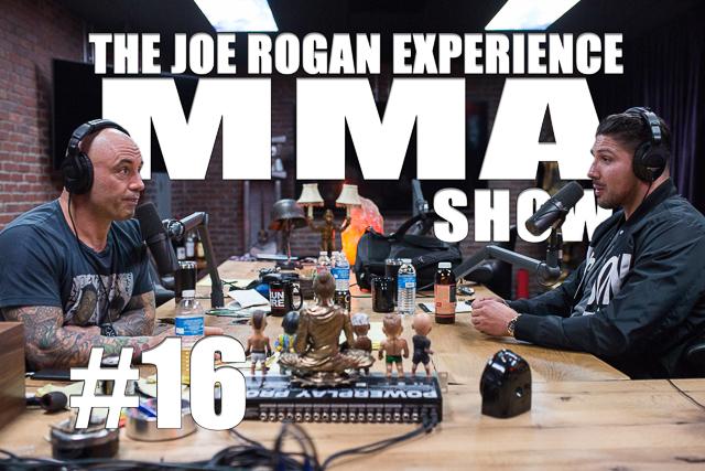 The Joe Rogan Experience JRE MMA Show #16 with Brendan Schaub