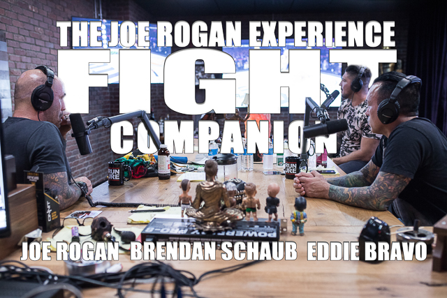 The Joe Rogan Experience Fight Companion - April 28, 2018