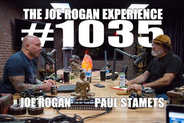 The Joe Rogan Experience #1035 - Paul Stamets