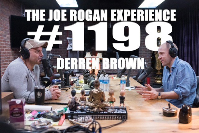 The Joe Rogan Experience #1198 - Derren Brown