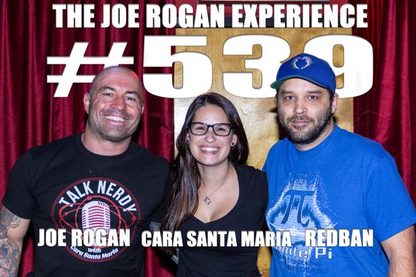 The Joe Rogan Experience #539 - Cara Santa Maria