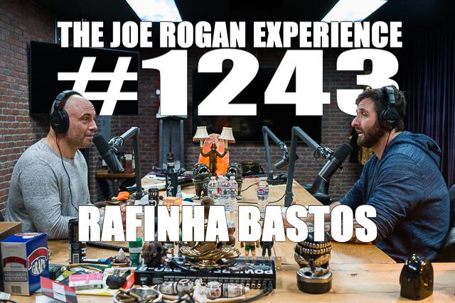 The Joe Rogan Experience #1243 - Rafinha Bastos