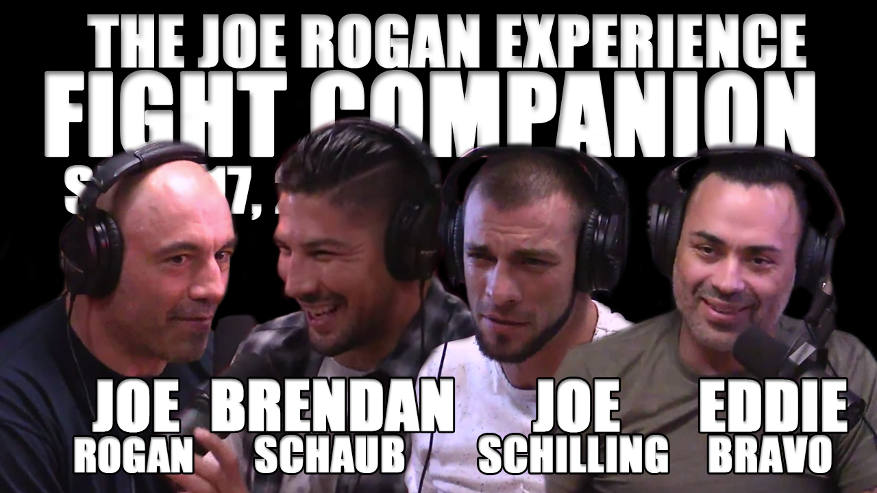 The Joe Rogan Experience Fight Companion - September 17, 2016